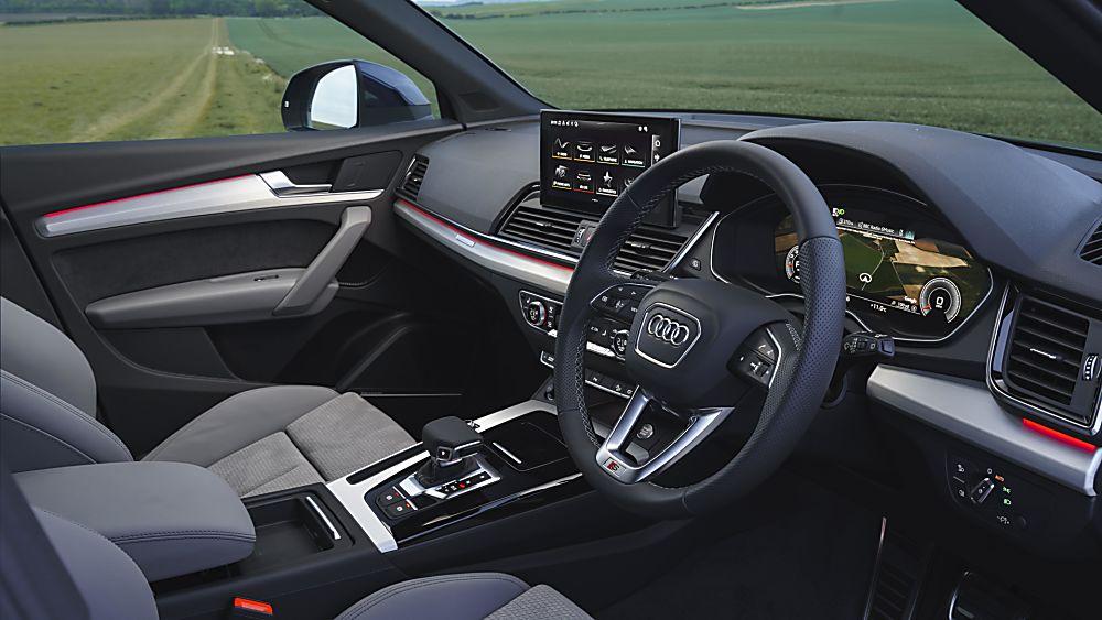 Review: Audi Q5 Sportback Interior Front