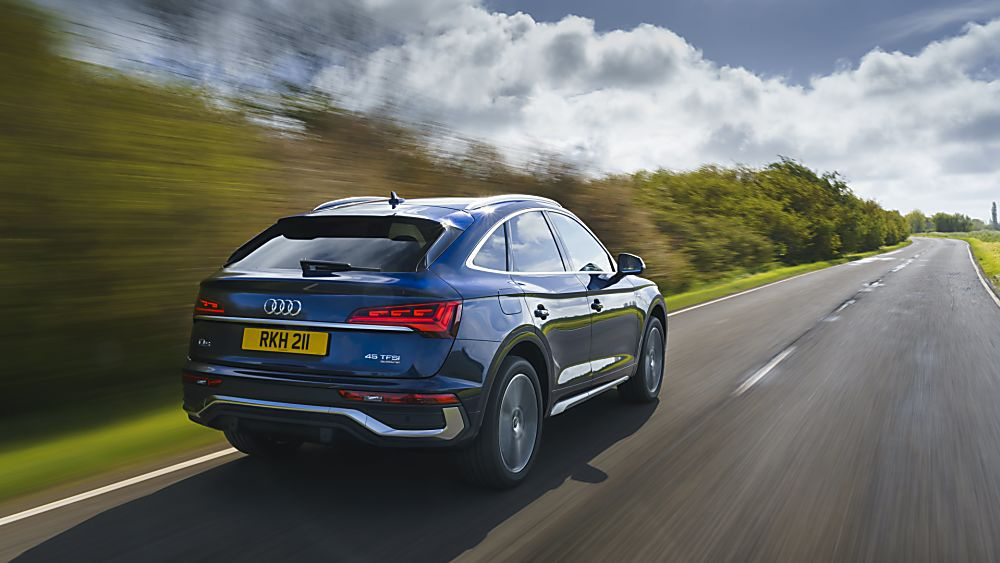 Review: Audi Q5 Sportback On the road rear