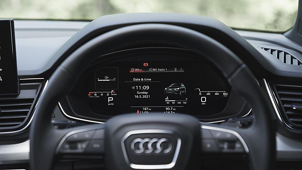 Review: Audi Q5 Sportback Dashboard