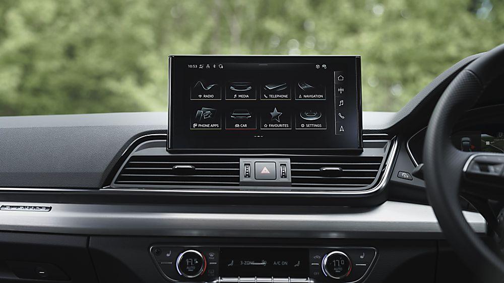 Review: Audi Q5 Sportback Infotainment