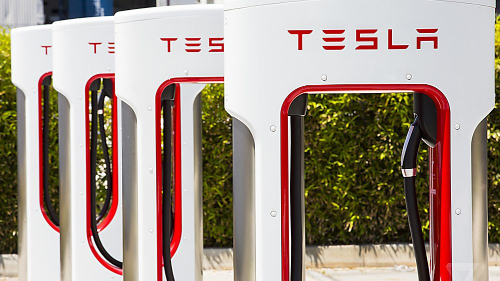 TESLA: Supercharger network to open to rival EVs Chargers