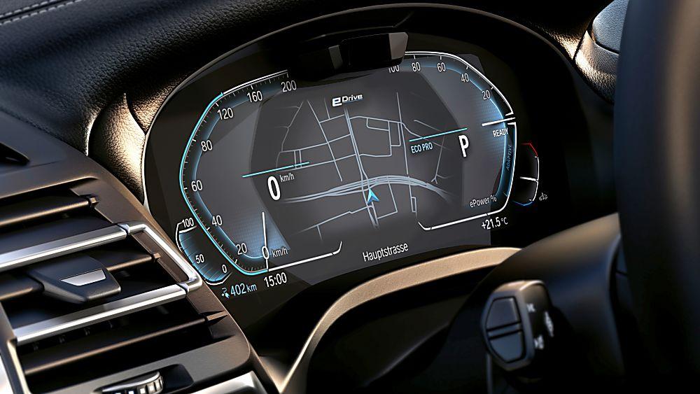 BMW: Early refresh and M Sport trim for iX3 EV Dashboard