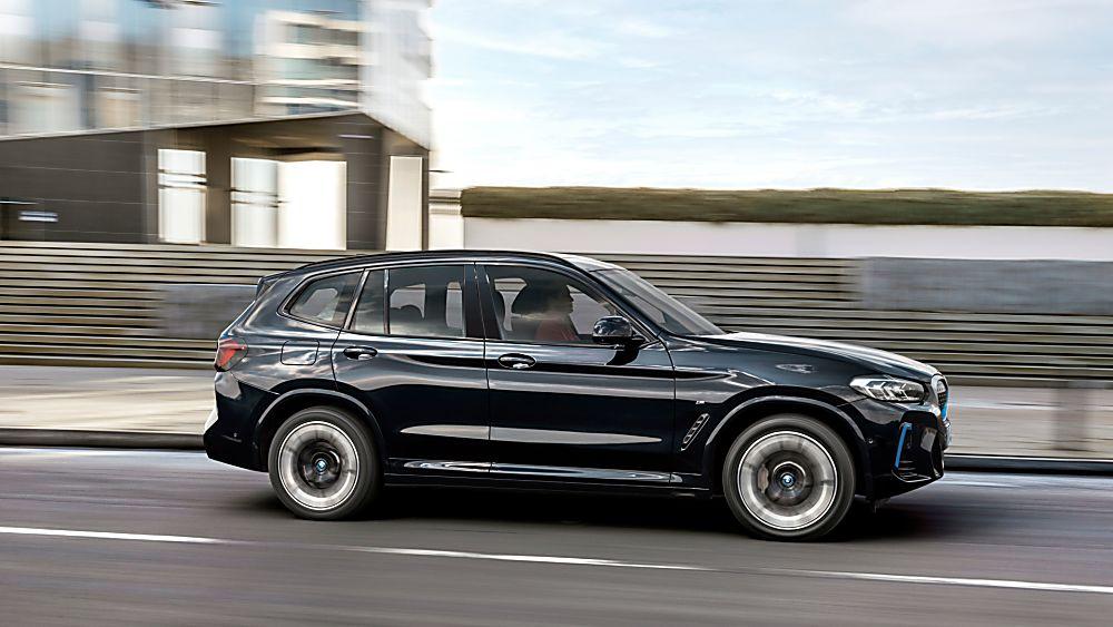 BMW: Early refresh and M Sport trim for iX3 EV Side