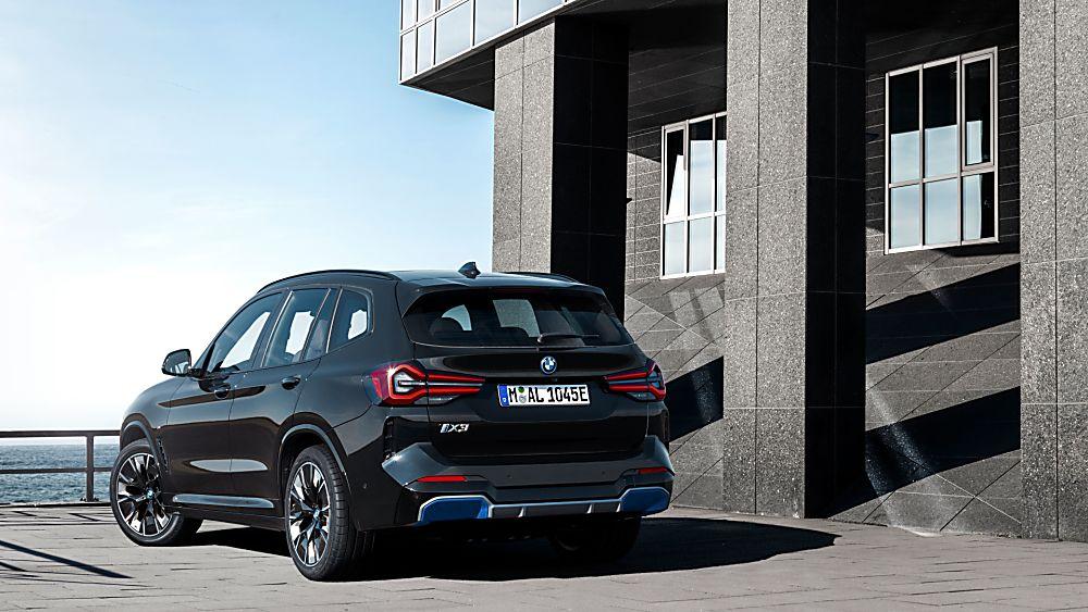 BMW: Early refresh and M Sport trim for iX3 EV Hero Rear