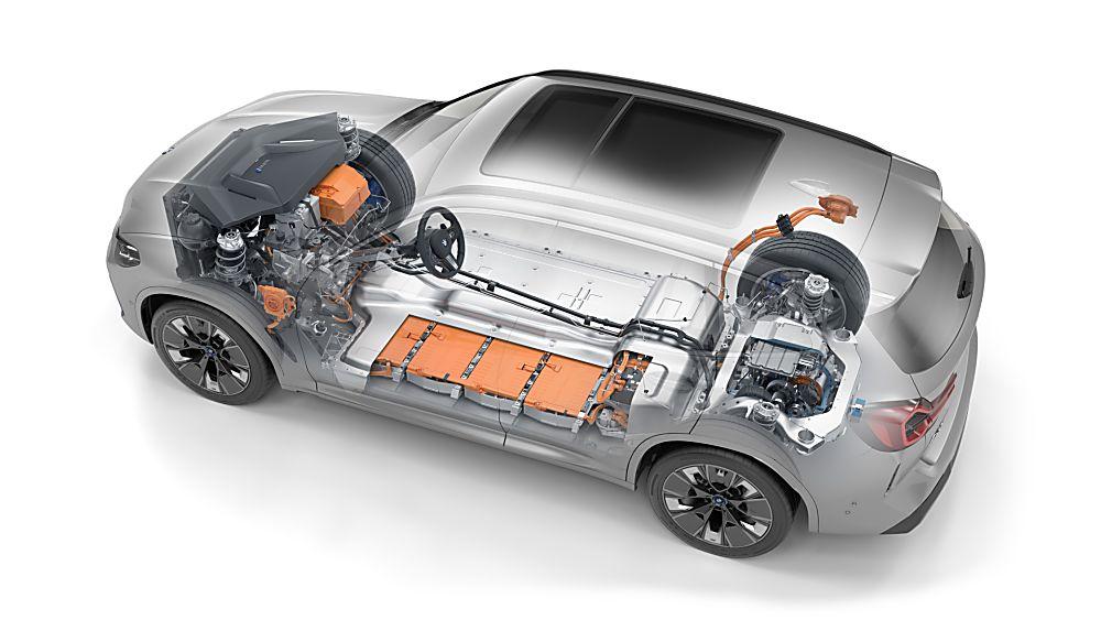 BMW: Early refresh and M Sport trim for iX3 EV Drivetain
