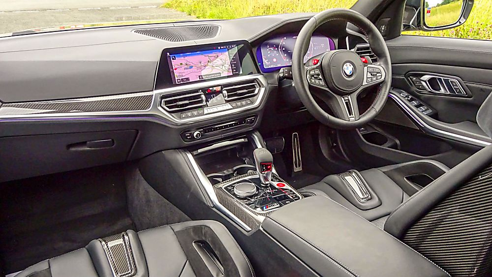 Review: 2021 BMW M3 Competition Cockpit