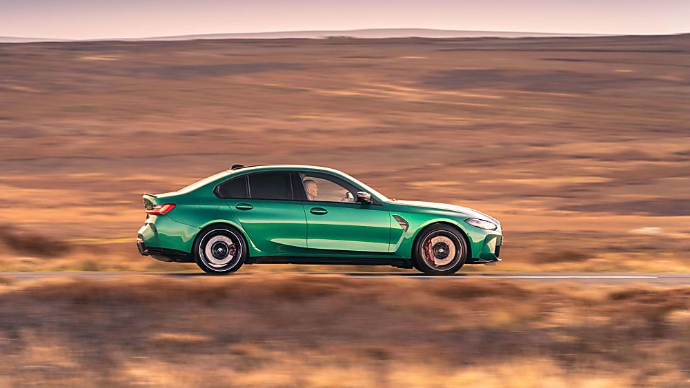 Review: 2021 BMW M3 Competition Hero Side