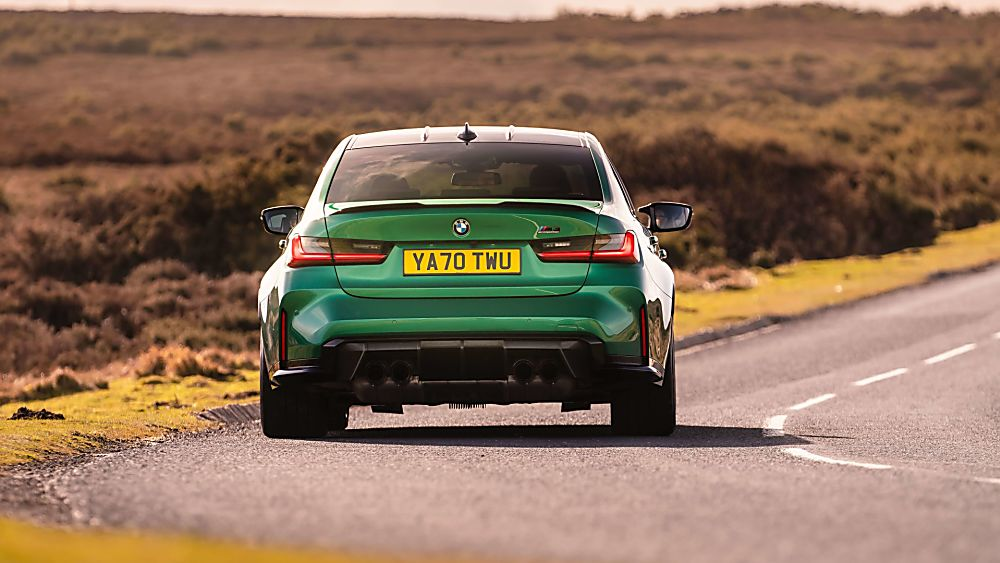 Review: 2021 BMW M3 Competition Hero Rear