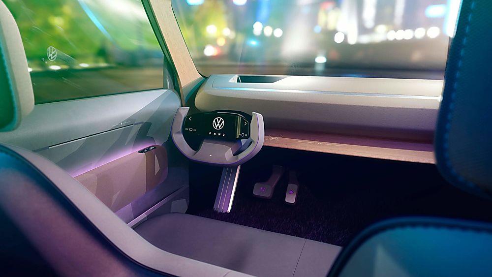VOLKSWAGEN: Affordable ID.Life EV concept revealed Cockpit