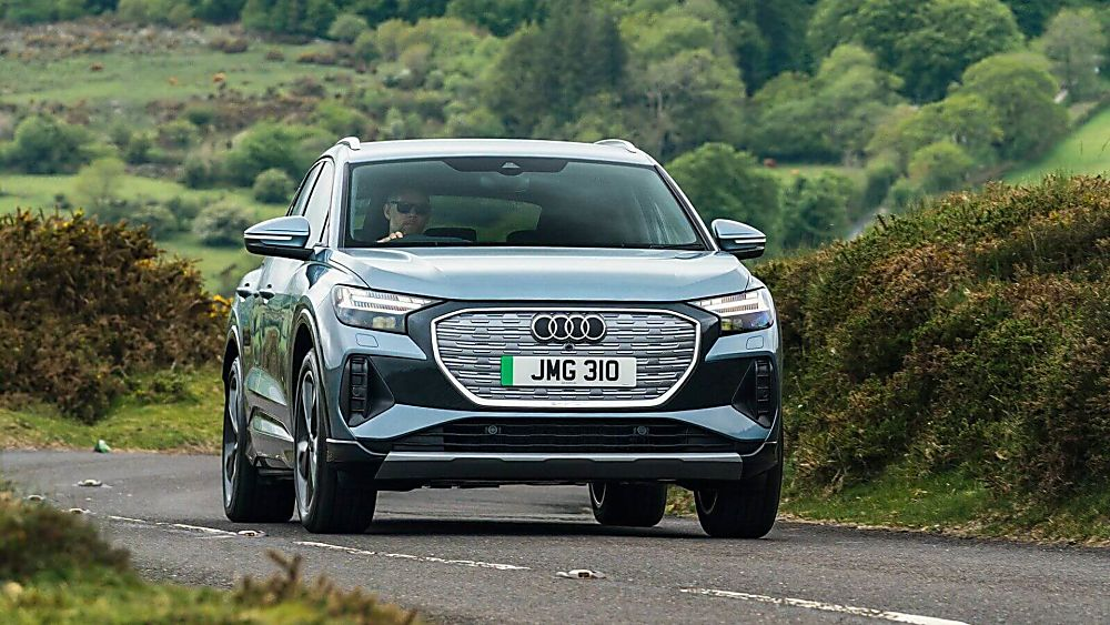 Review: Audi Q4 e-tron On the road