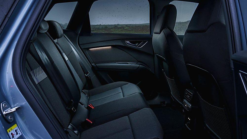 Review: Audi Q4 e-tron Interior Rear