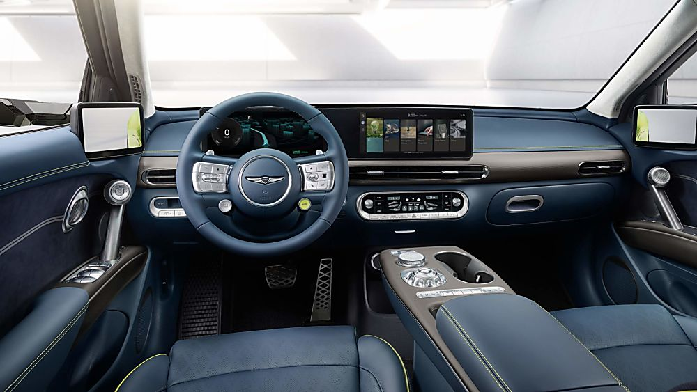 GENESIS: New all-electric GV60 set for 2022 Cockpit