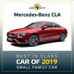 Mercedes-Benz regained its crown in the best performing Small Family Car