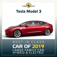 Tesla Model 3 - Large Family Car Hybrid and Electric