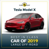 Tesla Model X Best Class of 2019 Large Off-road