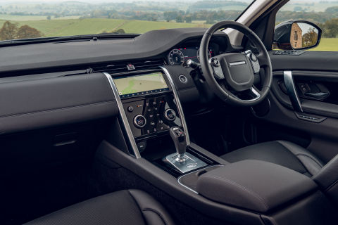 Land Rover Discovery Sport 2019 Interior Front