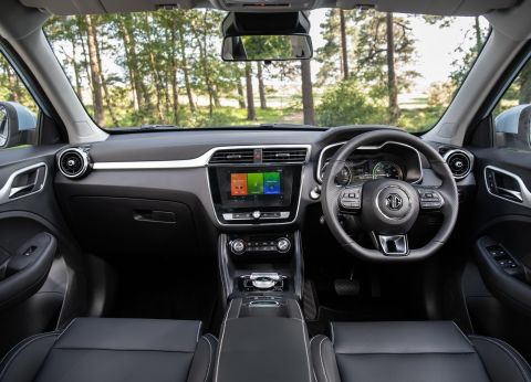 MG ZS Electric 2019 Interior Dashboard