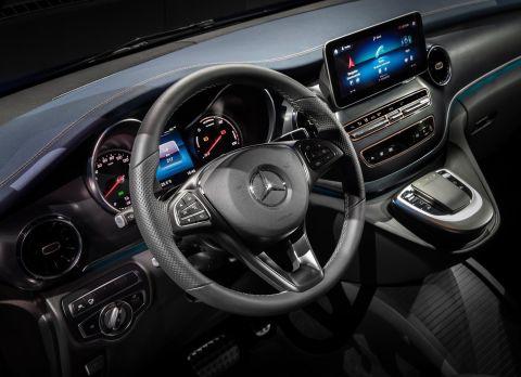 Mercedes-Benz EQV Dashboard