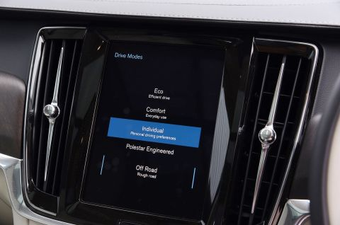 Volvo V90 Cross Country Driving Modes