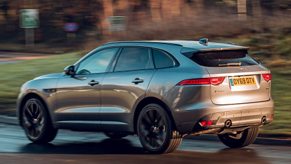 Jaguar F-Pace Side Situ