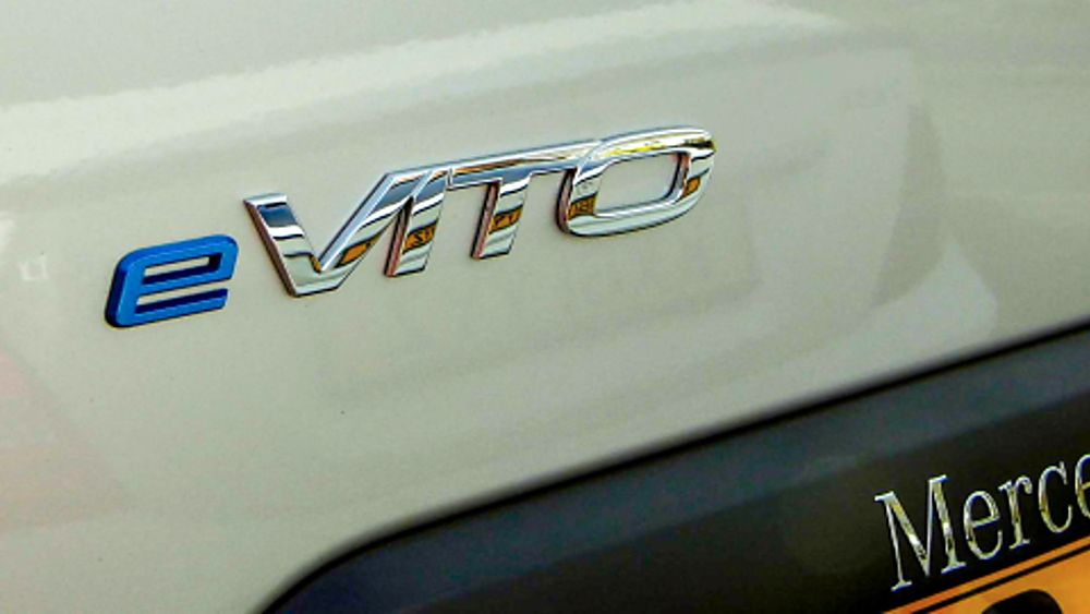 Mercedes Benz E-Vito Badge