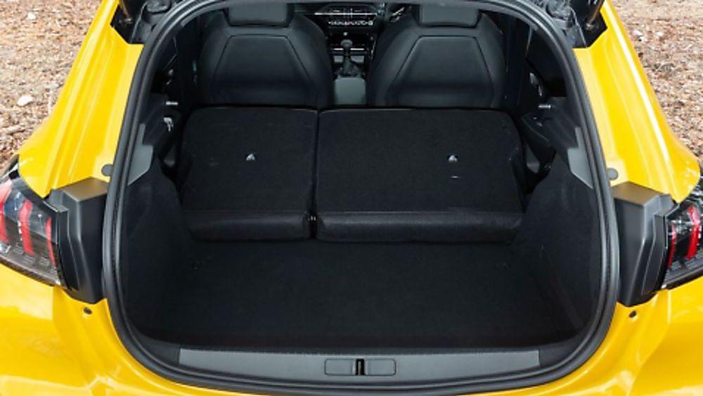 Peugeot 208 Inside Boot