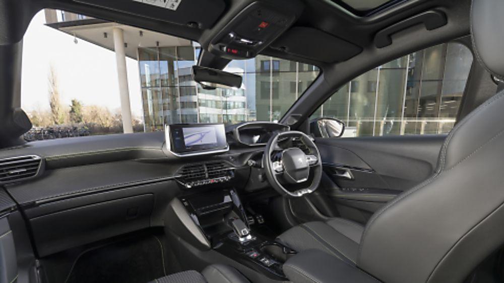 Peugeot 208 Inside Front