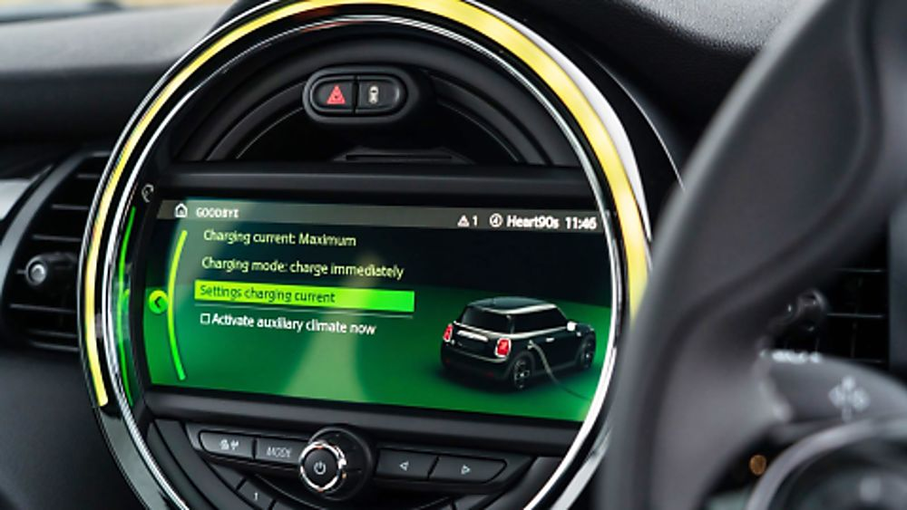 Mini Electric Infotainment