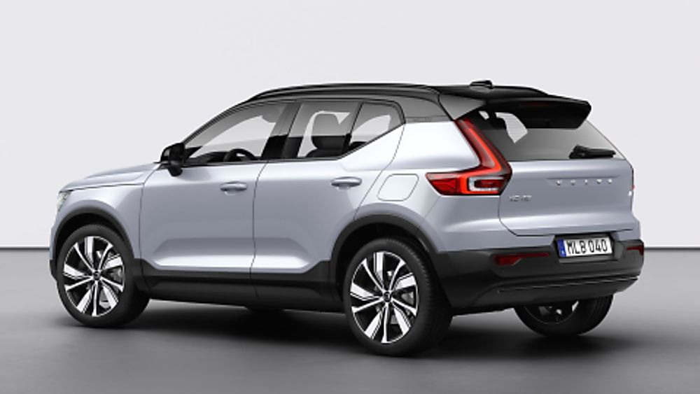Volvo Electric XC40 Recharge Rear