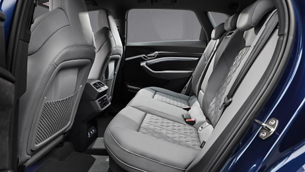 Audi E-Tron S Interior Rear