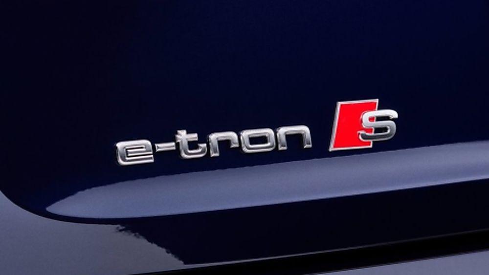 Audi E-Tron S Badge