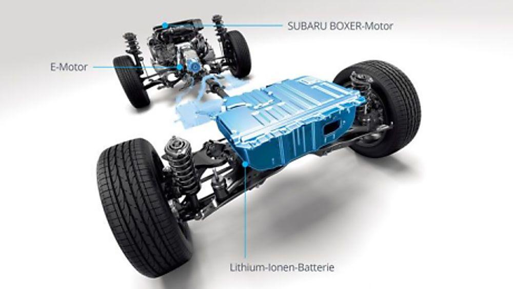 Subaru Forester e-Boxer MHEV Drivetrain