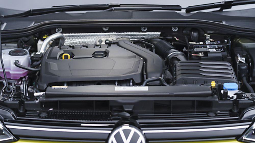 2020 Volkswagen Golf Mk8 engine bay