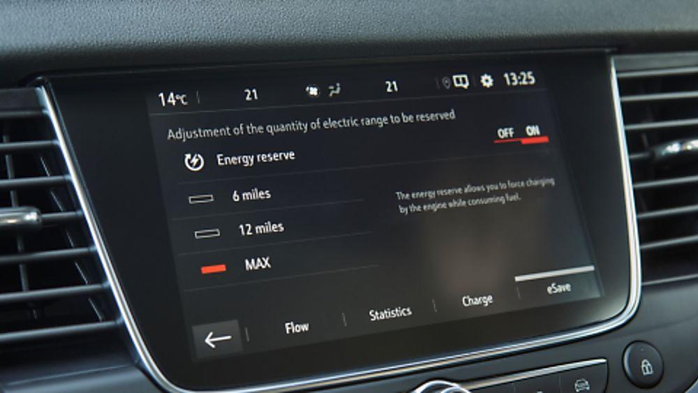 Vauxhall Grandland X Hybrid4 Dashboard