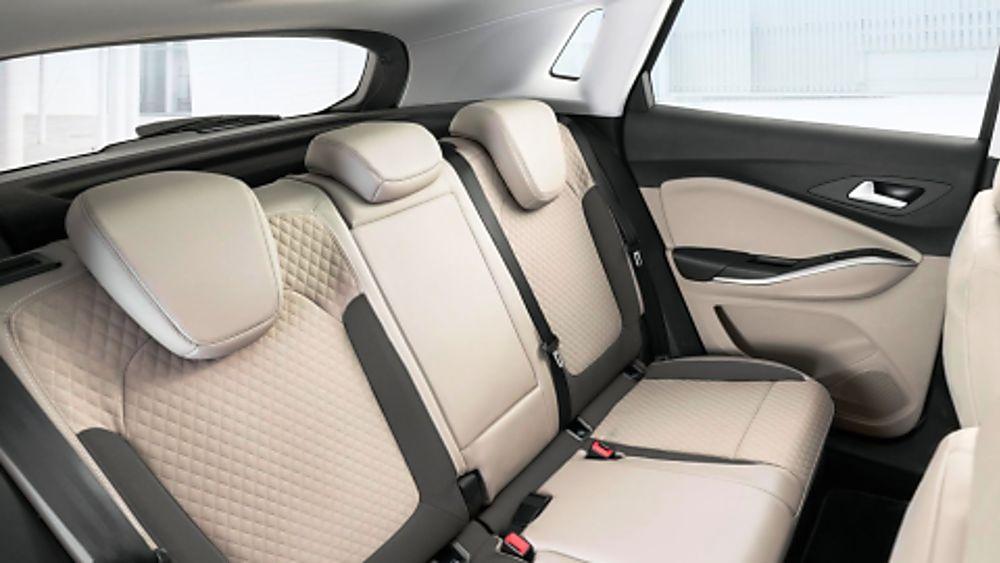 Vauxhall Grandland X Hybrid4 Interior Rear
