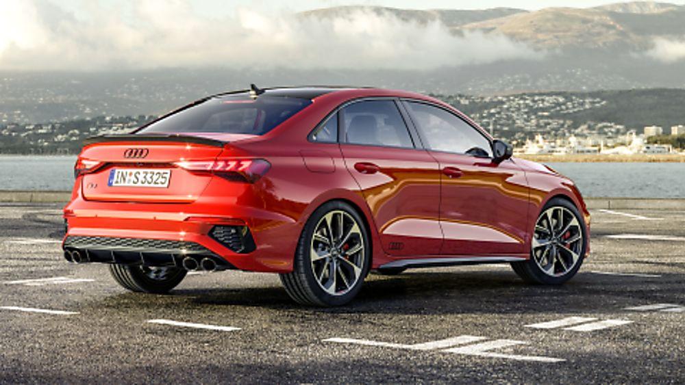 Audi S3 2020 Saloon Rear