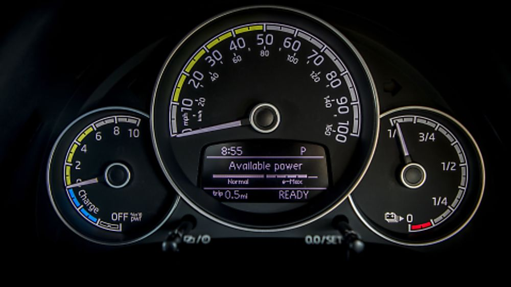 Skoda Citigo e-iV Dashboard