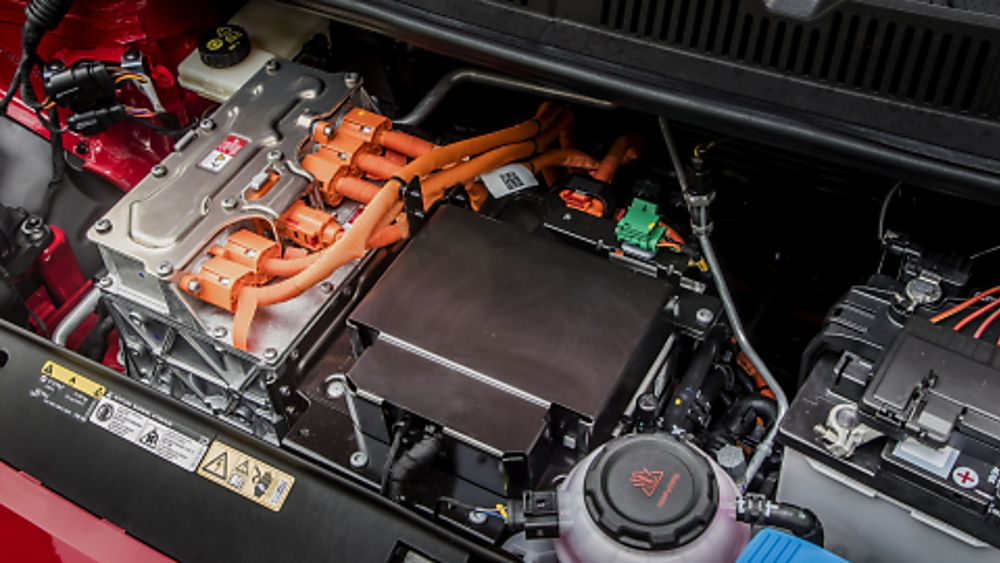 Skoda Citigo e-iV electric engine