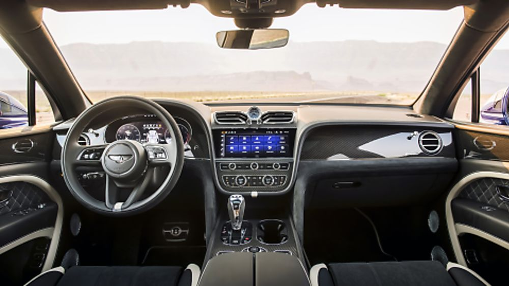 BENTLEY: 2021 Bentayga Speed revised dashboard
