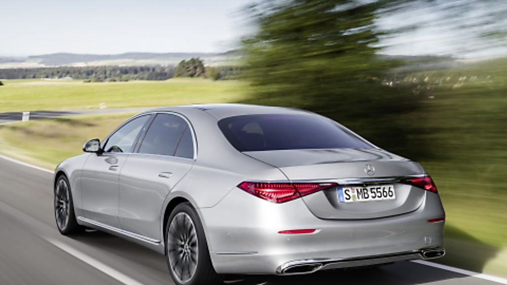 New Mercedes-Benz S Class Rear