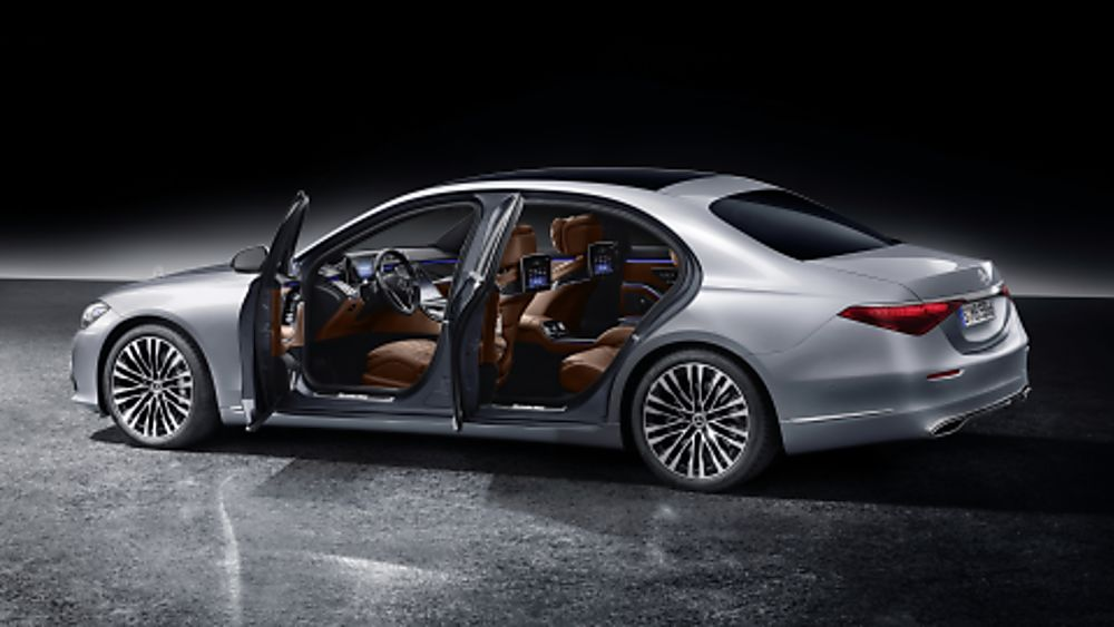 New Mercedes-Benz S Class Side Open