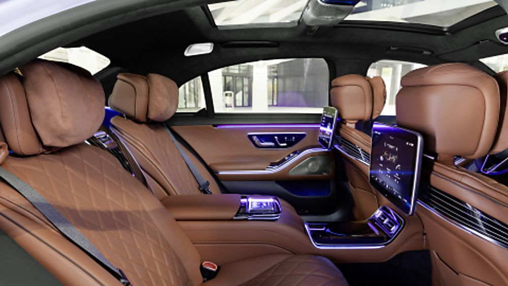 New Mercedes-Benz S Class Interior Rear