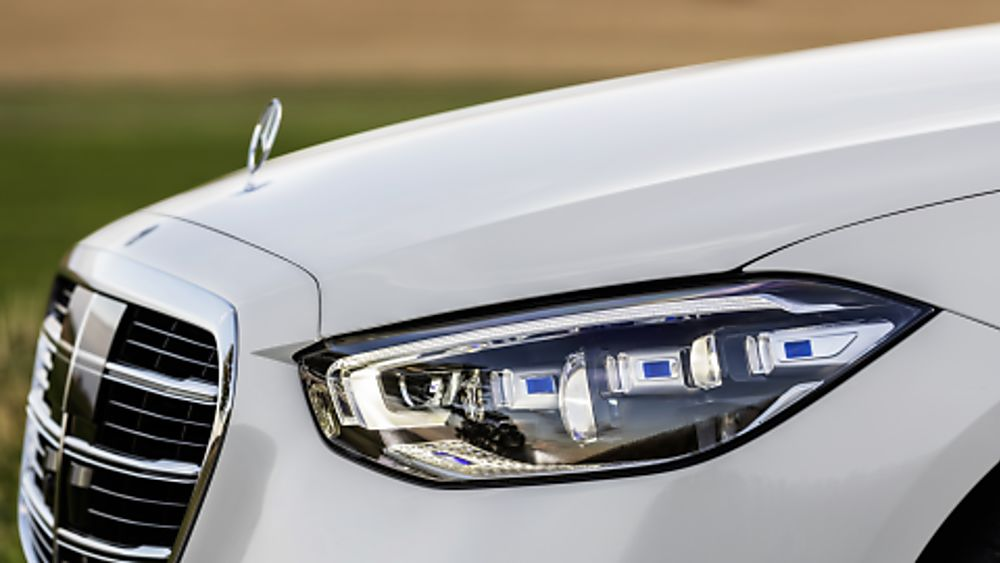 New Mercedes-Benz S Class Headlights