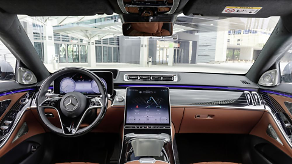 New Mercedes-Benz S Class Dashboard