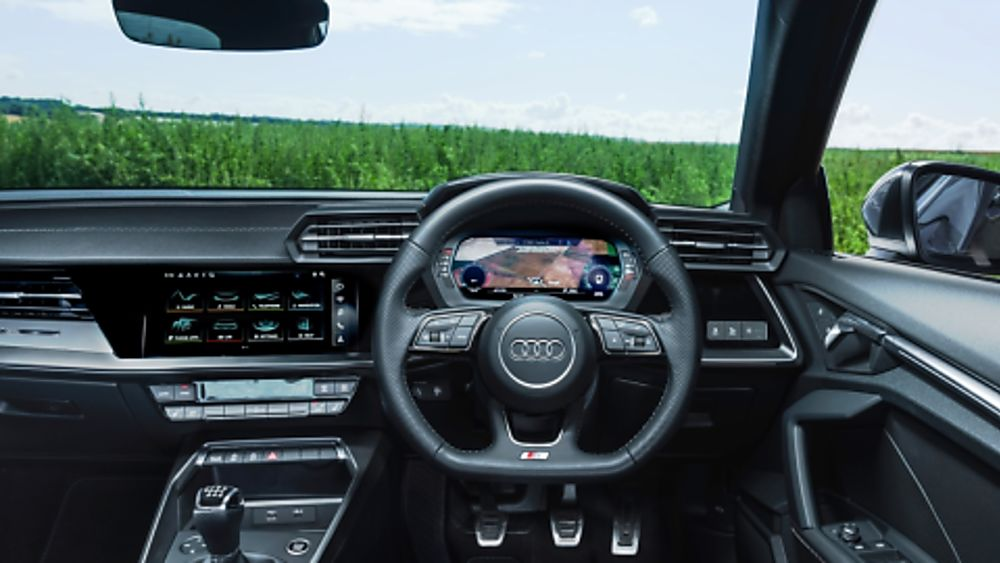 Review Audi A3 New Dashboard