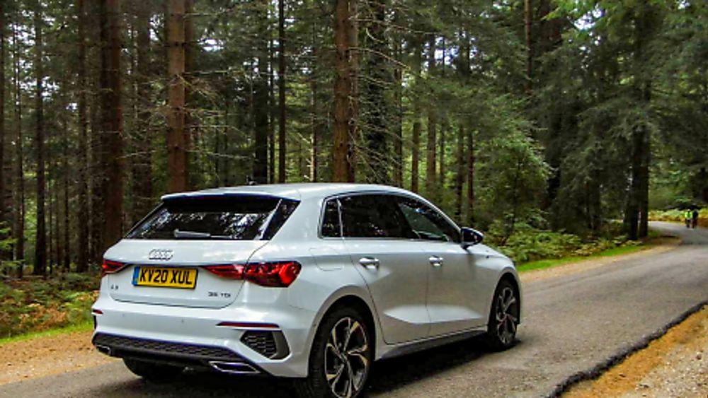 Review Audi A3 Rear Offside