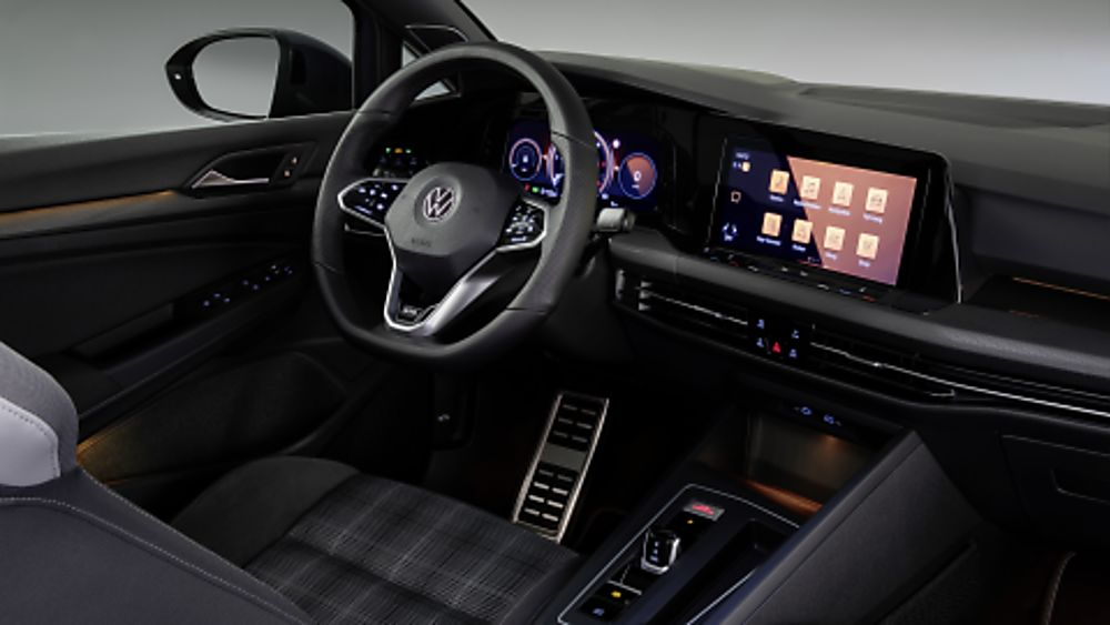 Volkswagen Golf GTD New Interior Front