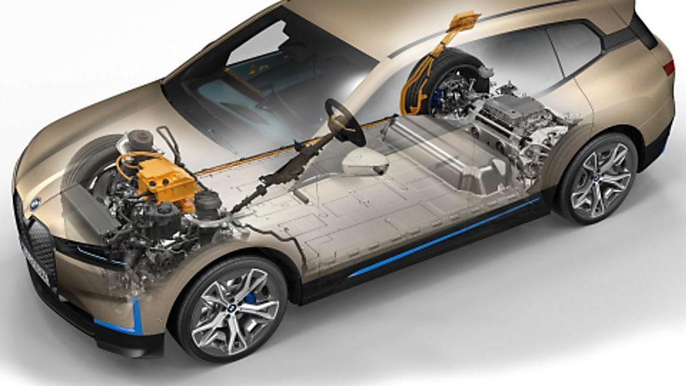 New BMW iX EV 2020 Drivetrain
