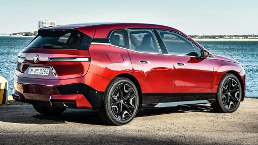 New BMW iX EV 2020 Rear