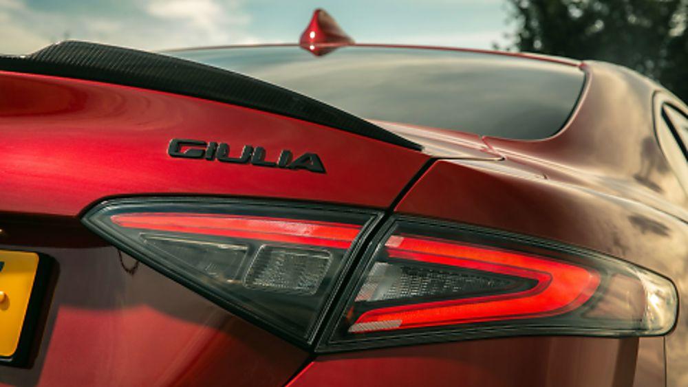 Alfa Romeo Giulia Quadrifoglio Verde Emblem
